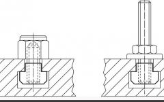 T-Kanal ISO 299 Standart Ölçüleri ve T-Somun Ölçüleri